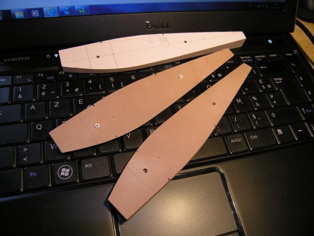 Blériot Zappata 110 ébauche du fuselage